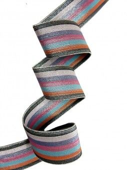 striped colorful elastic