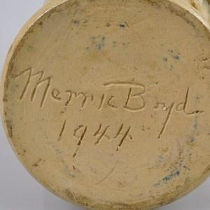 Merric Boyd Pottery 1944 Large Sweeping Gumtree Landscape Vase Signed | eBay