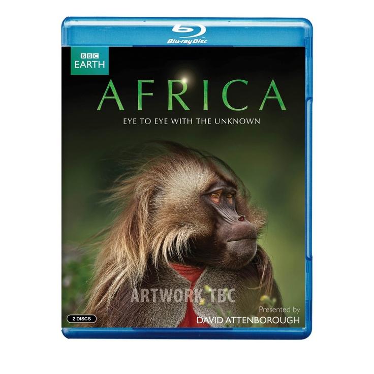 BBC David Attenborough Africa Blu-Ray