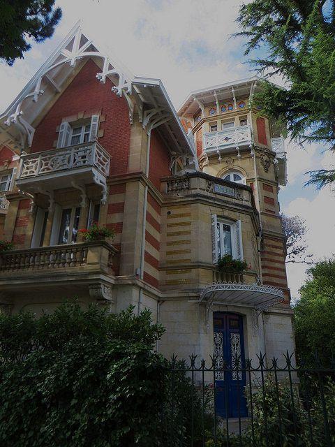 "Villa ""Sigurd"", Ville d'Hiver, Arcachon, Gironde, Aquitaine, France."