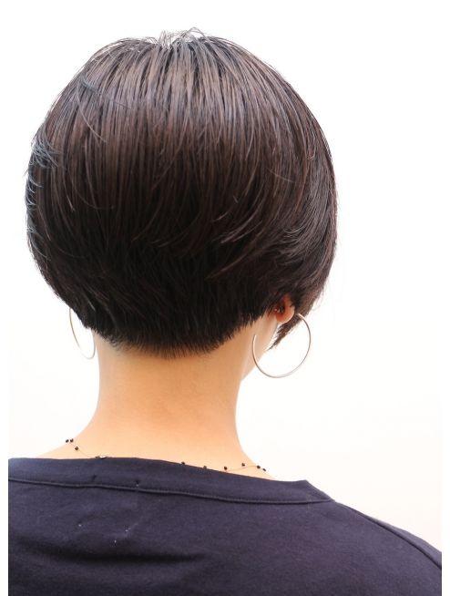 モリオ 池袋店(morio FROM LONDON) 【morio池袋】黒髪かっこいいショートボブ