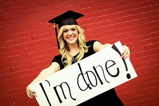 """After graduation sign. Change the wording to """"next stop grad school"""""""