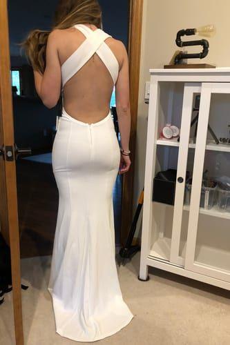 b96045c293 Heaven and Earth White Maxi Dress