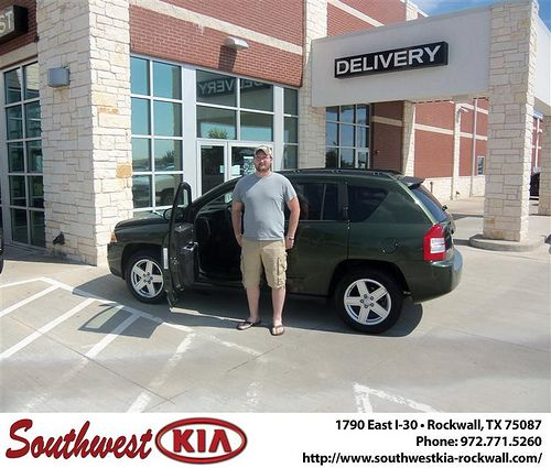 Happy Anniversary to Sherri Ross on your 2008 Jeep Compass from Richard Branch and everyone at Southwest KIA Rockwall! - Copy