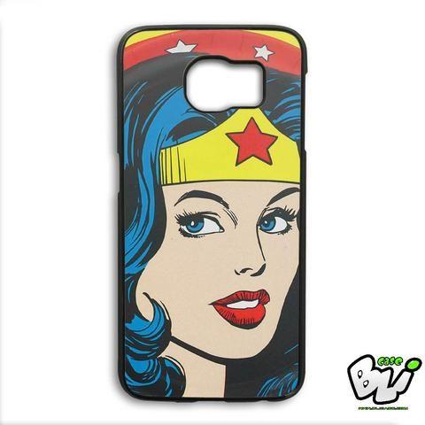 Wonder Woman Beautiful Face Samsung Galaxy S6 Edge Plus Case