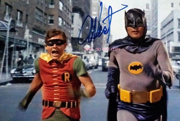 ADAM WEST SIGNED PHOTO. REPRINT AUTOGRAPH. BATMAN. BURT WARD. FAMILY GUY. | eBay