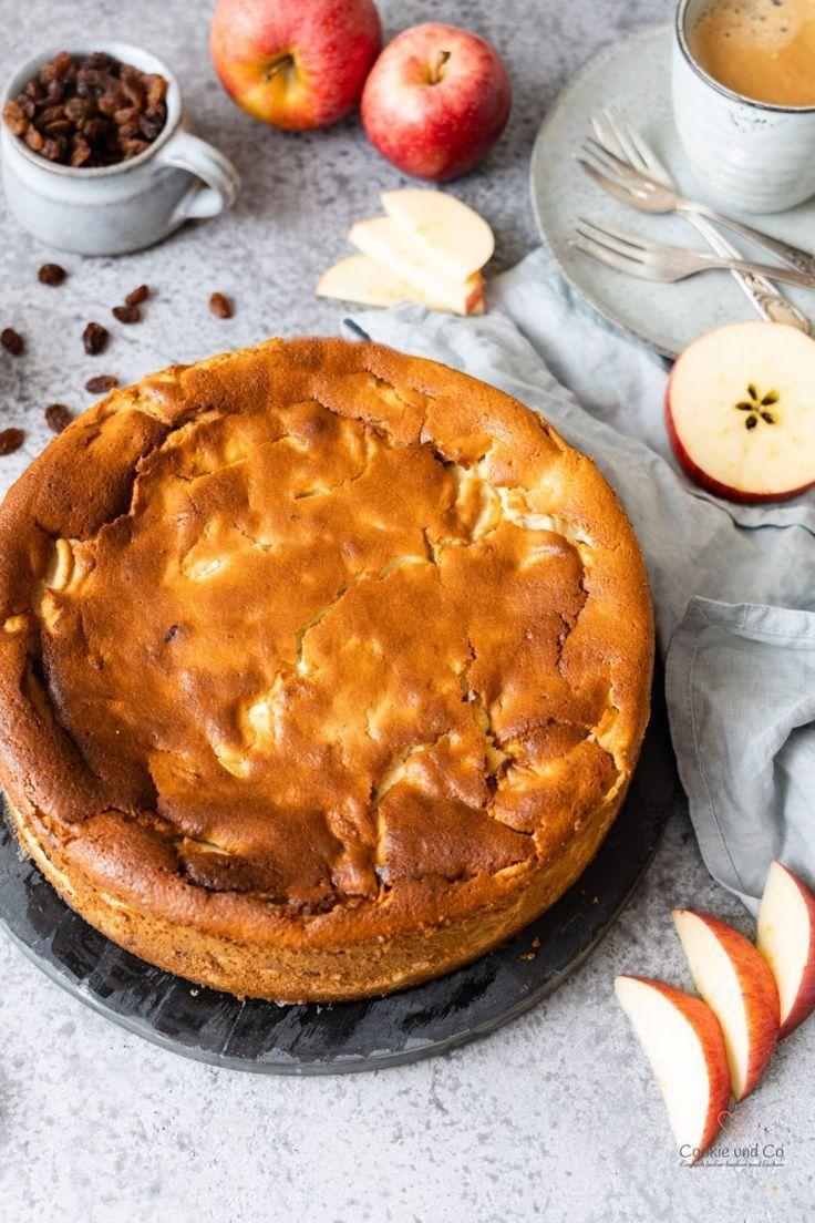 Rezept Fur Einen Saftigen Apfel Quark Kuchen Mit Griess Ein Fruchtiger Kasekuchen Ohne Boden Na Apfel Quark Kuchen Kasekuchen Ohne Boden Quarkkuchen Ohne Boden
