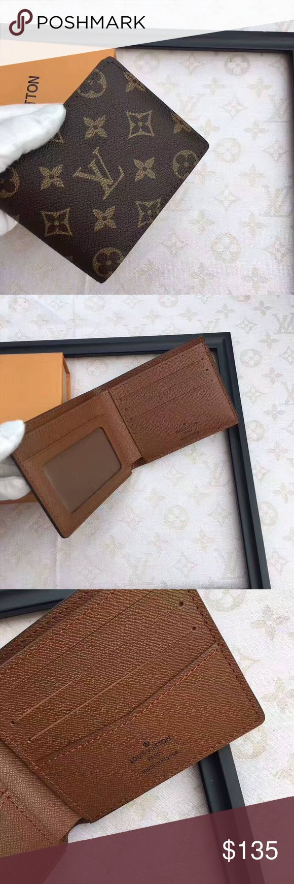 Louis Vuitton wallet New with box // man wallet // real leather// please don't state the obvious Bags Wallets
