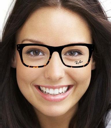 Ich probiere gerade Brillen online. Diese gefällt mir besonders gut!