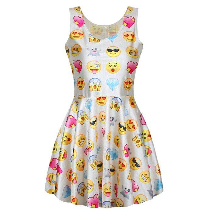 Whatsapp emoji Kleid