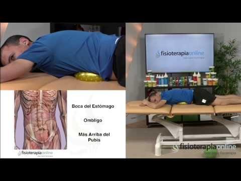 Masaje de diafragma y vientre para liberar la respiración. - YouTube