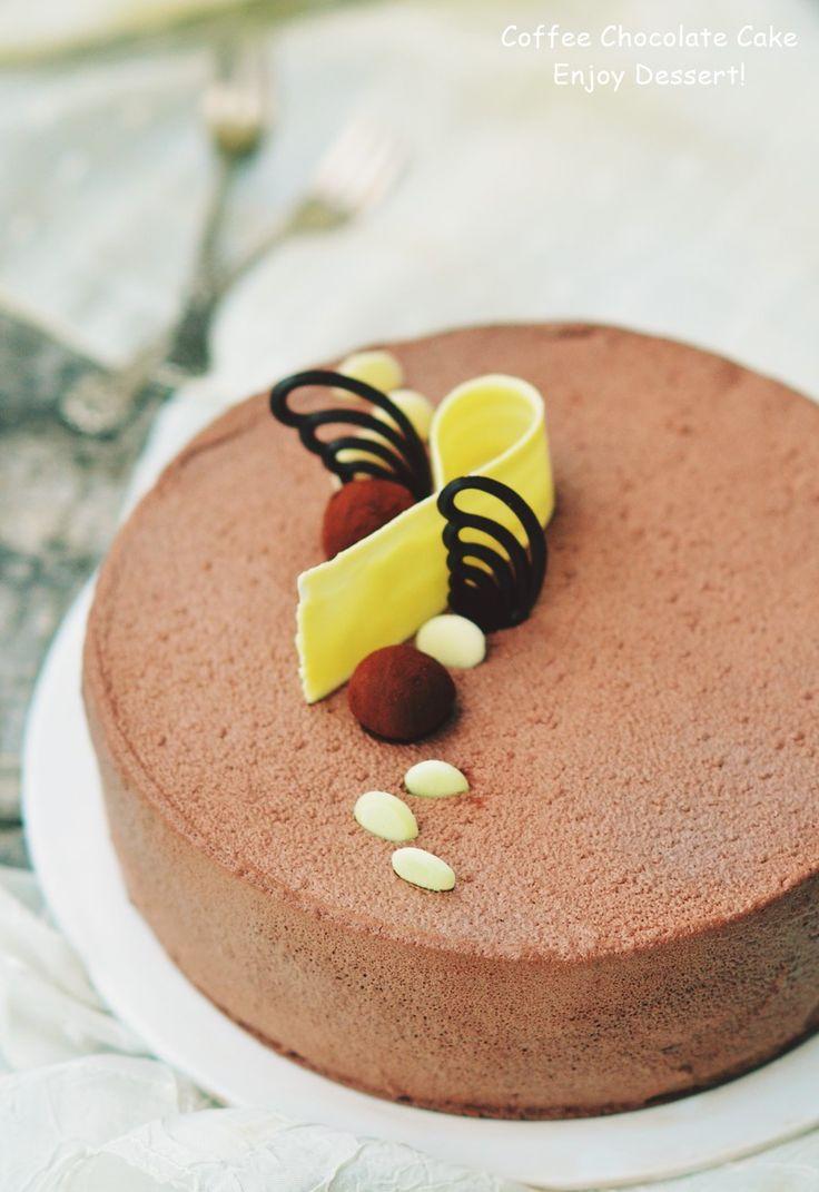 Chocolate & Coffee Cake