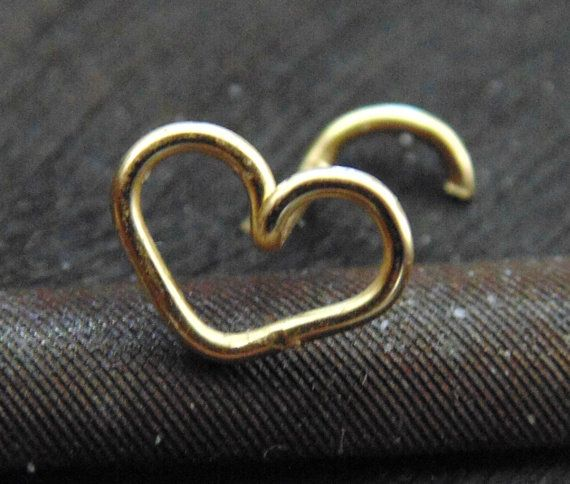 Best 25 Heart nose rings ideas on Pinterest