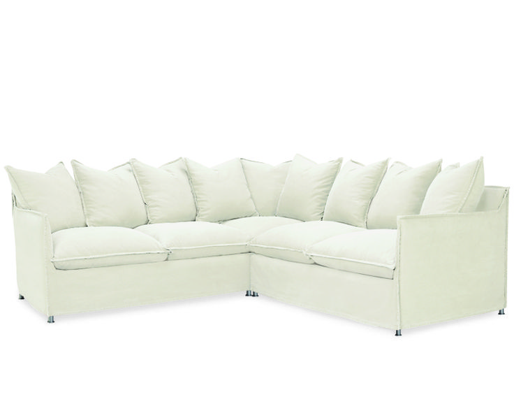 Lee Industries Agave Outdoor Slipcovered Sectional Series
