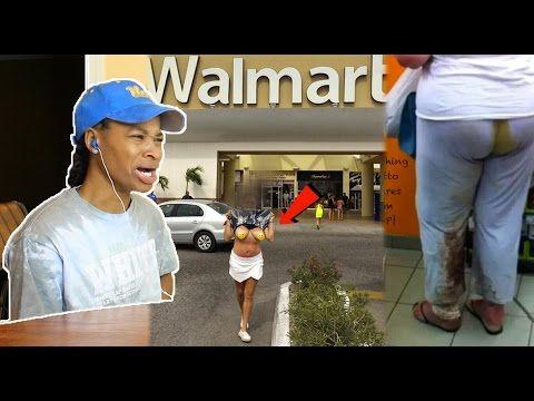 Weird People At Walmart REACTION!!