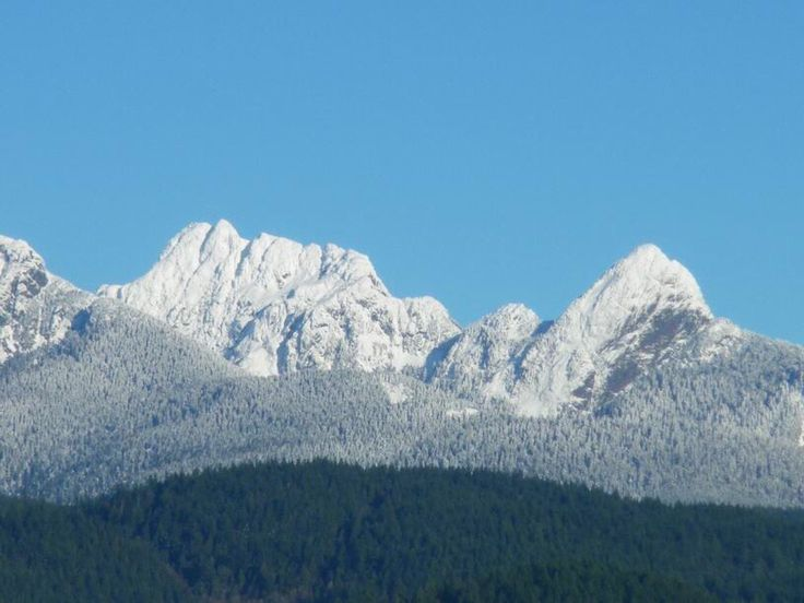 Golden Ears Mountains