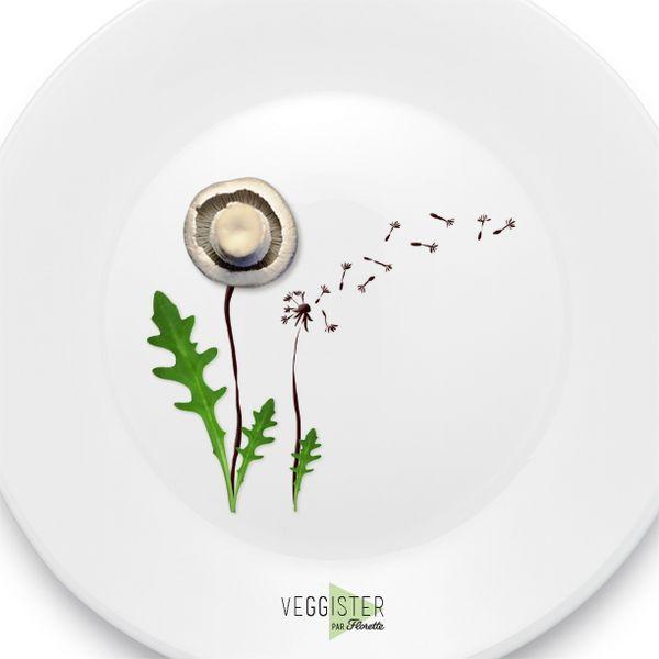 Une envolée de fraîcheur qui devrait bien vous plaire #Veggister #FoodArt