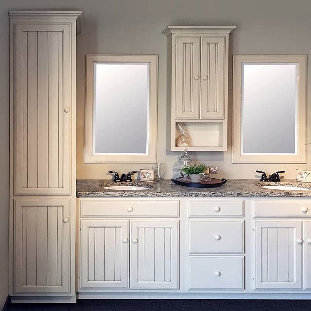 Redoing Your Bathroom With Our Custom Vanities You Can Make Sure That Everything And Everyone Has Custom Vanity Cabinets Bathroom Remodel Master Custom Vanity