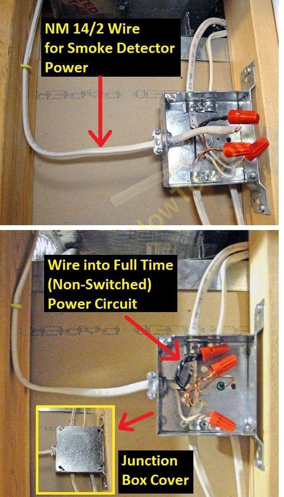 Smoke Alarm Ac Power Feed Branch Circuit Wiring Smoke Alarms Ac Power Alarm