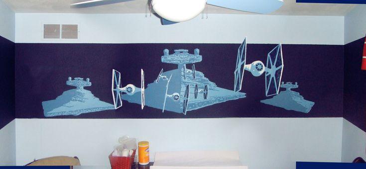 Star Wars Mural by ~SpuneDagr on deviantART