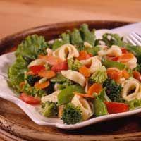 Tortellini SaladHomemade Dressings, Diabetic Living, Diabetes Living, Salad Recipe, Vegetarian Recipe, Diabetes Recipe, Diabetes Friends, Healthy Food, Tortellini Salad