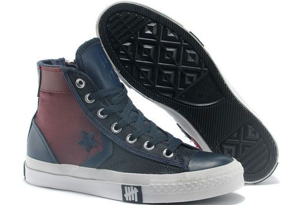 2dbc05340916 Red Blue Converse Clot X First String Pro Mr.Sandman Chuck Taylor All Star  High Top Canvas Sneakers  converse  shoes