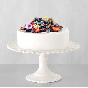 In this beautiful and simple Chantilly cake recipe, fresh berries are layered with whipped cream and delicate sponge cake