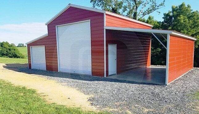 42x26 Raised Center Aisle Barn Carolina Barn For Horses Metal Building Prices Prefab Barns Outdoor Storage Buildings