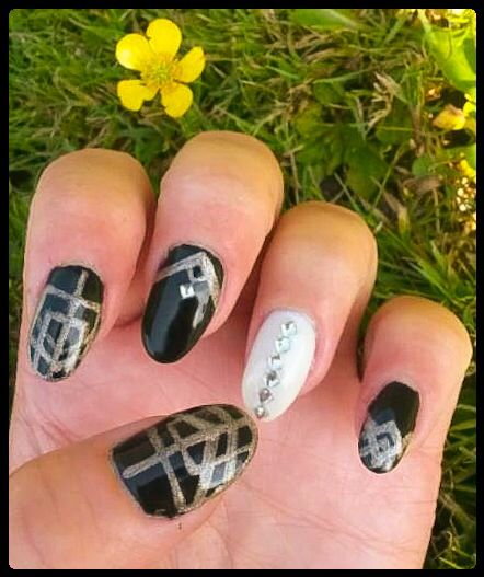 """The Great Gatsby"" inspired Nail Art by ""Lorena Style"""