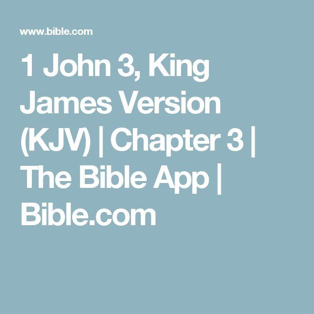 1 John 3, King James Version (KJV)   Chapter 3   The Bible App   Bible.com