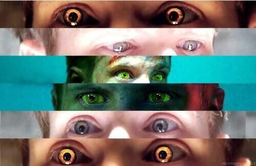 Patrick's eyes in the Youngblood Chronicles