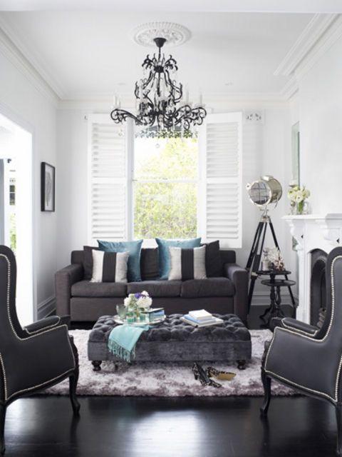 Classic Noir Home    Stepping across the threshold of Bree Oliver's recently renovated home in the inner-Sydney suburb of Paddington is akin to stumbling upon an immaculate corner of paradise, where Parisian chic melds seamlessly with New York sophistication.