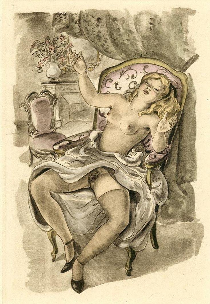 Эротические рисунки орловского
