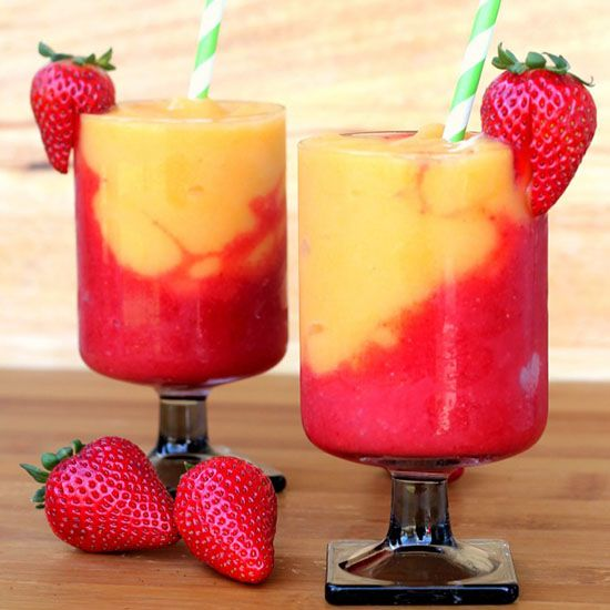 Make a wine slushie to cool down when you're laying by the pool or relaxing on your deck! These amazing wine slushie recipes only require a few ingredients and a blender! Make a strawberry and peach wine slushie, frozen raspberry red wine slushie or even a moscato slush!