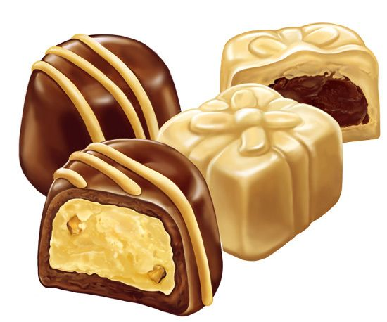 Den Potisev - конфеты