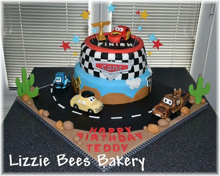 Disney Cars Birthday Cake: 25+ Best Ideas About Car Birthday Cakes On Pinterest