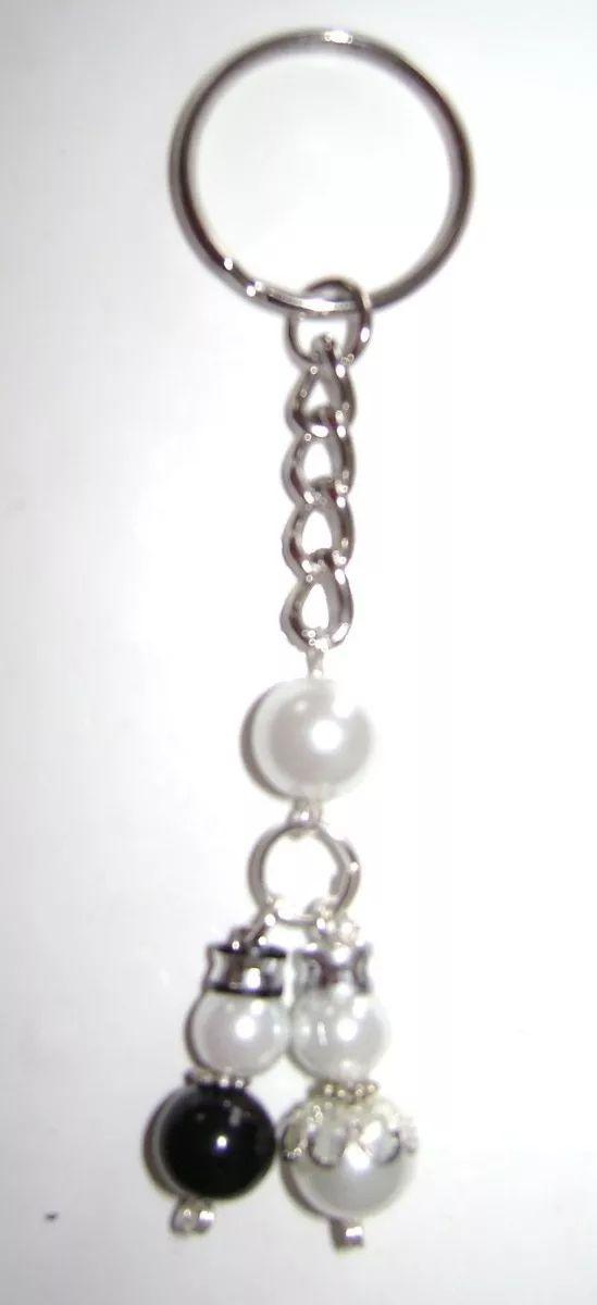 Promocion Llaveros De Novios De Perlas A Solo $ 18 - $ 18.00 en Mercado Libre