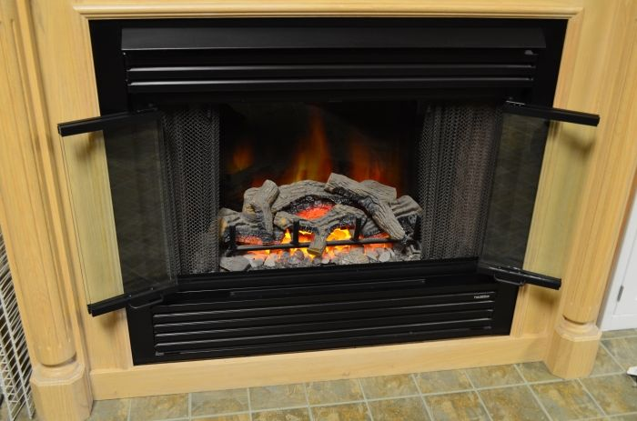Nightwell Fireplace Glass Door For Prefab Fireplaces Fireplace