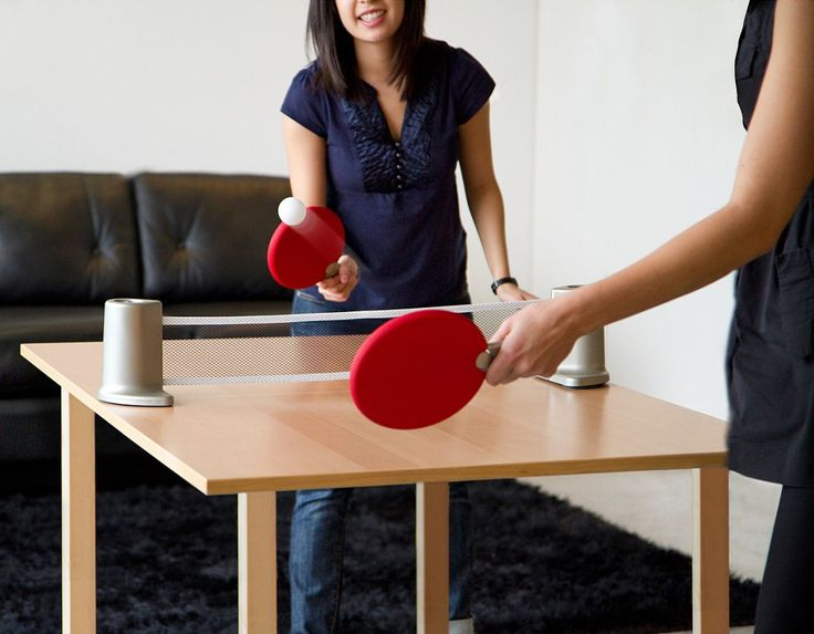 Portable Ping Pong Set - Birthday Gift Ideas for Men Who Have Everything