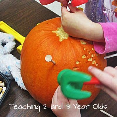 A COLLECTION OF PRESCHOOL ACTIVITIES FOR FALL - Teaching 2 and 3 year olds
