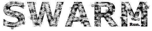 Here is my typography rough. I was trying to make the letters look like they were made out of bugs and it was a swarm of them... I don't know how well that came off. But this could be like a movie title or a title of some film about bugs Im not sure how it is interpreted by you guys
