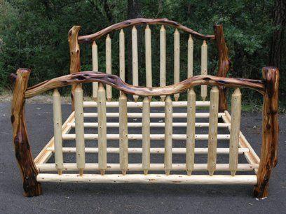 Log bed.