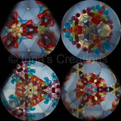 Inna's Creations: Homemade kaleidoscope toy