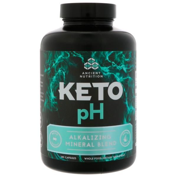 Dr Axe Ancient Nutrition Keto Ph Alkalizing Mineral Blend 180 Capsules Discontinued Item Nutrition Keto Organic Apple Cider