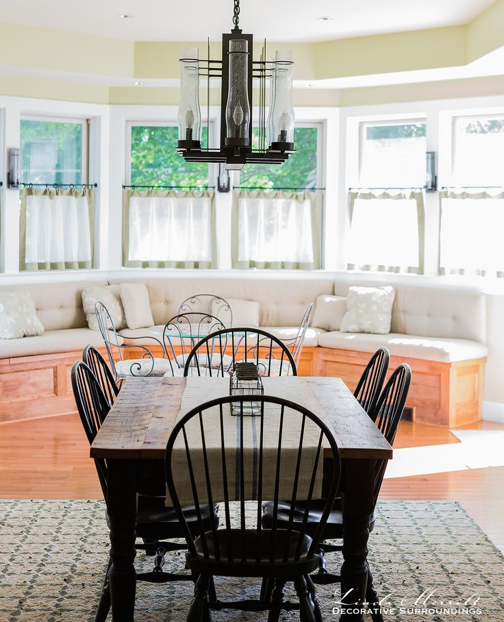 17 best images about linda merrill portfolio on pinterest for Custom dining room chair cushions