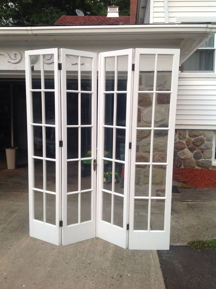 bifold french doors