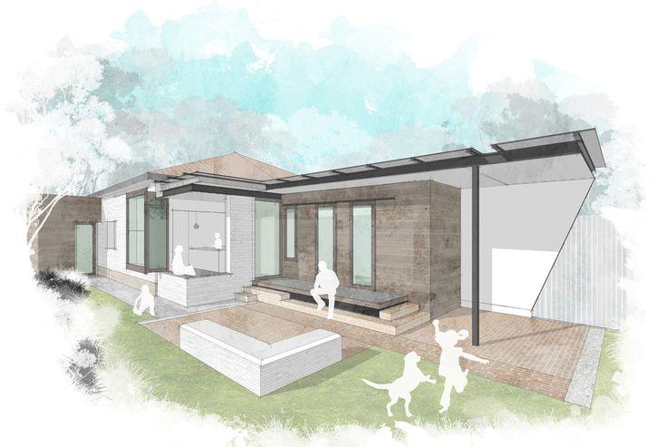 Caulfield Two Fold House. #melbournearchitect #brisbanearchitect  #architecture #arcke #contemporaryarchitecture