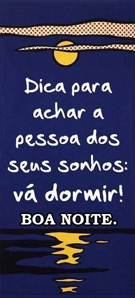 Post  Fala Sério!   : ♪♫   BONS  SONHOS !