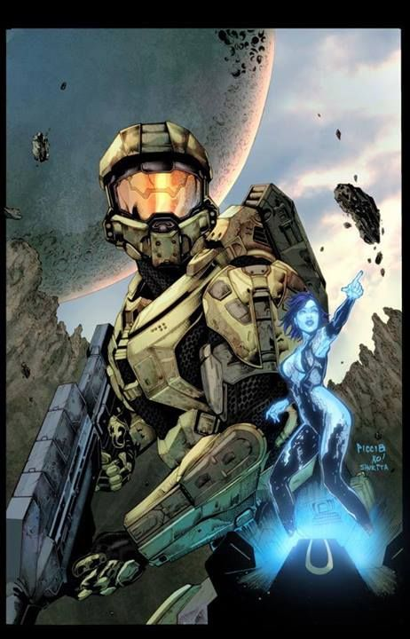 17 best images about halo on pinterest halo 3 halo - Master chief in halo reach ...