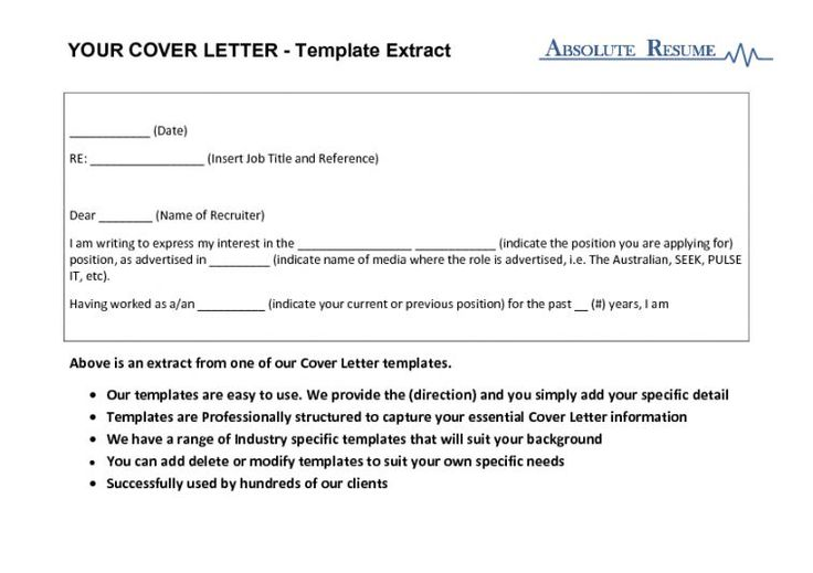 Good Cover Letter, Cover Letter Template And Cover